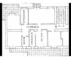 Cinquevani e mezzo con grandi spazi esterni e accesso autonomo