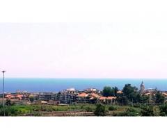 Corso Messina pentavani con mega panorama sul mare